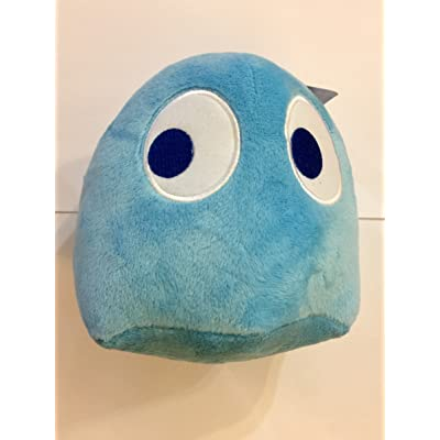 "Pac-Man 7"" Ghost Plush Blue: Toys & Games"