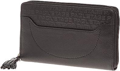 514c04cb95 Paquetage Gd Hermetique, Portefeuilles/Porte-monnaies femme - Noir Cuir de  vachette