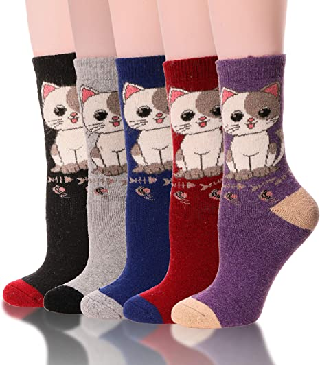 Red Cute Candy Compression Socks For Women Casual Fashion Crew Socks