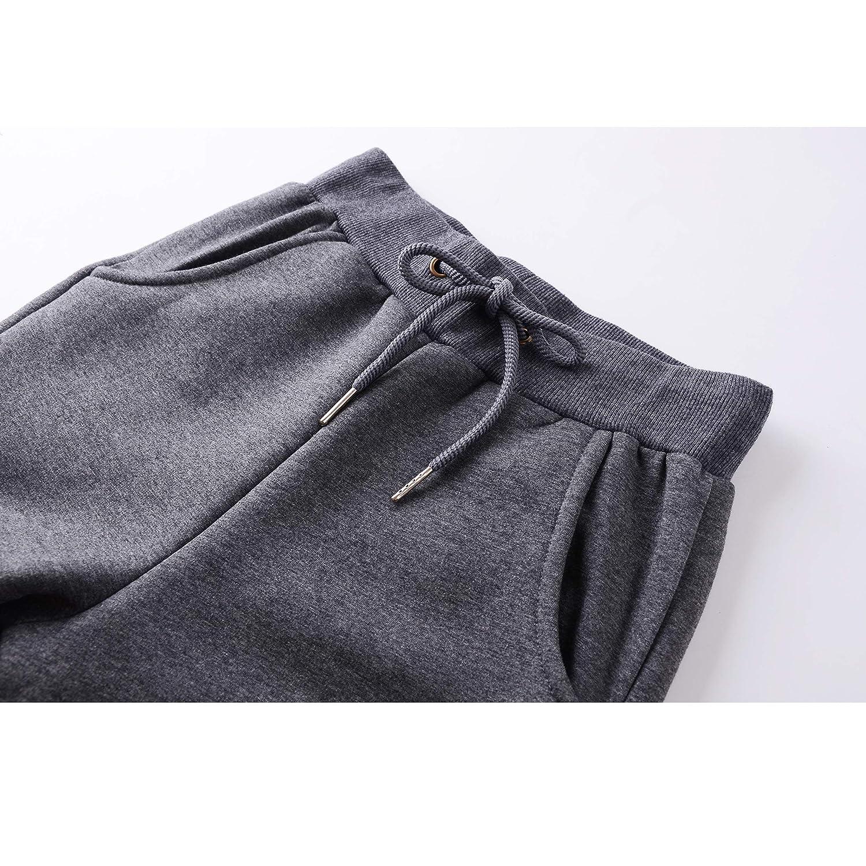 SEEU Damen Winter Sporthose Warme Jogginghose mit Kordelzug Gef/üttert 2 Taschen