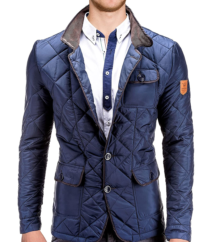 BetterStylz Men's Blouse Jacket Black Black