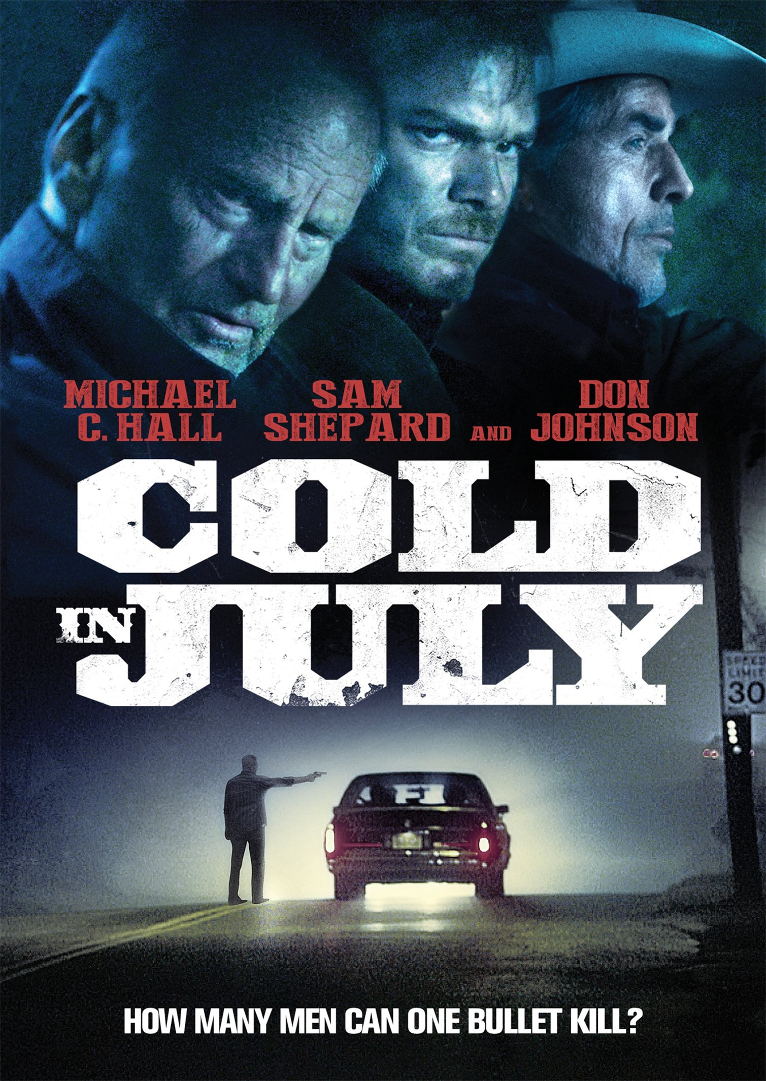 DVD : Cold in July (DVD)