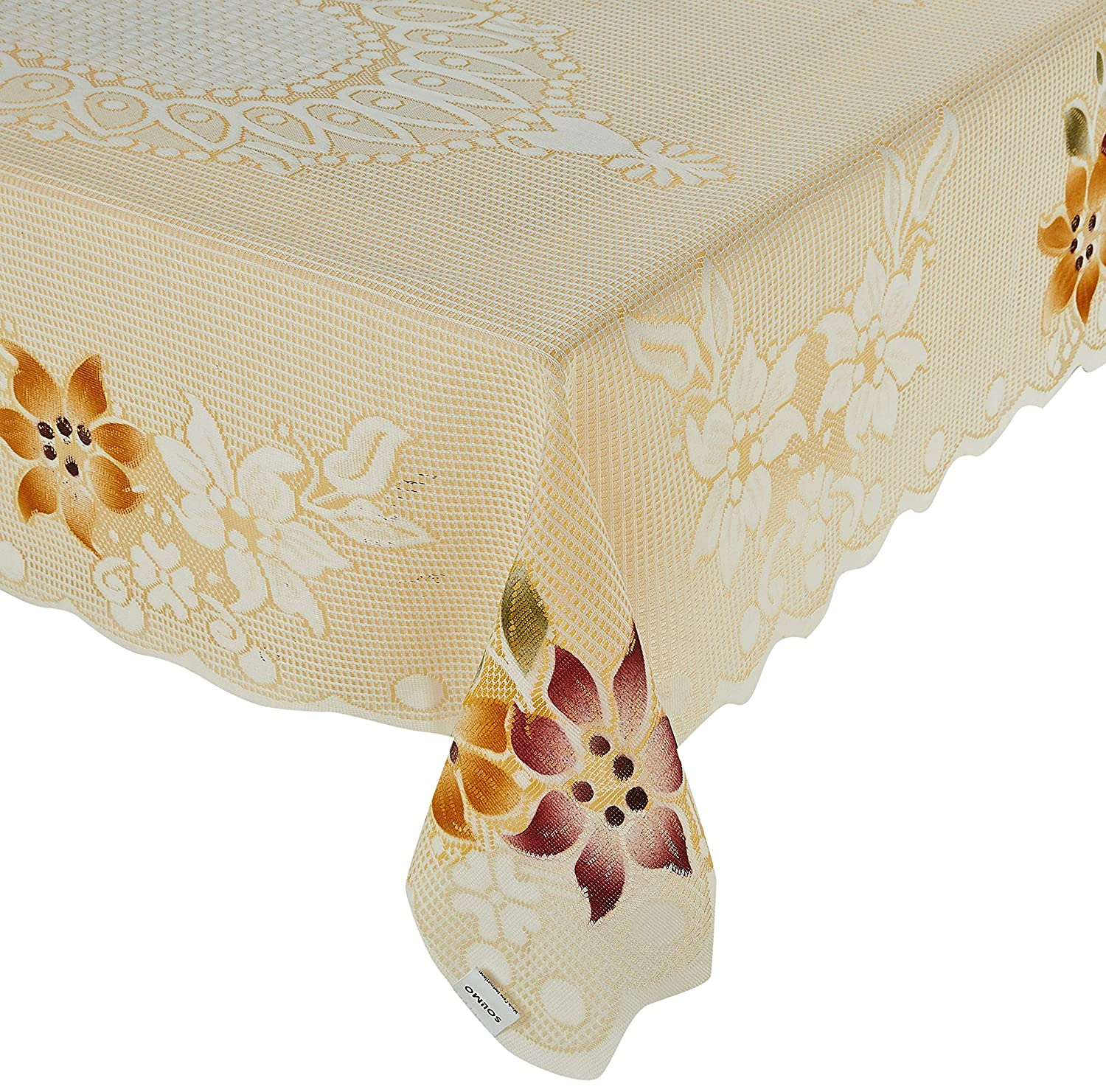 Solimo Cotton Blend Table Cover for Centre Table