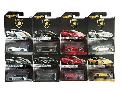 Buy Hot Wheels Lamborghini Limited Edtion Cars Set Of 8 Multi