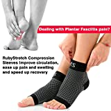 Compression Foot Sleeves for Men and Women: Plantar Fasciitis Pain Relief, Ankle and Arch Support Orthopedic Socks