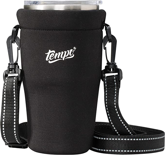 Thermos Cup Bag Sport Water Bottle Cover Carrying Pouch Bag Buckle Bottle