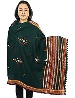 Accessoires de laine pour écharpe indiens main voile 92 x 213 cm