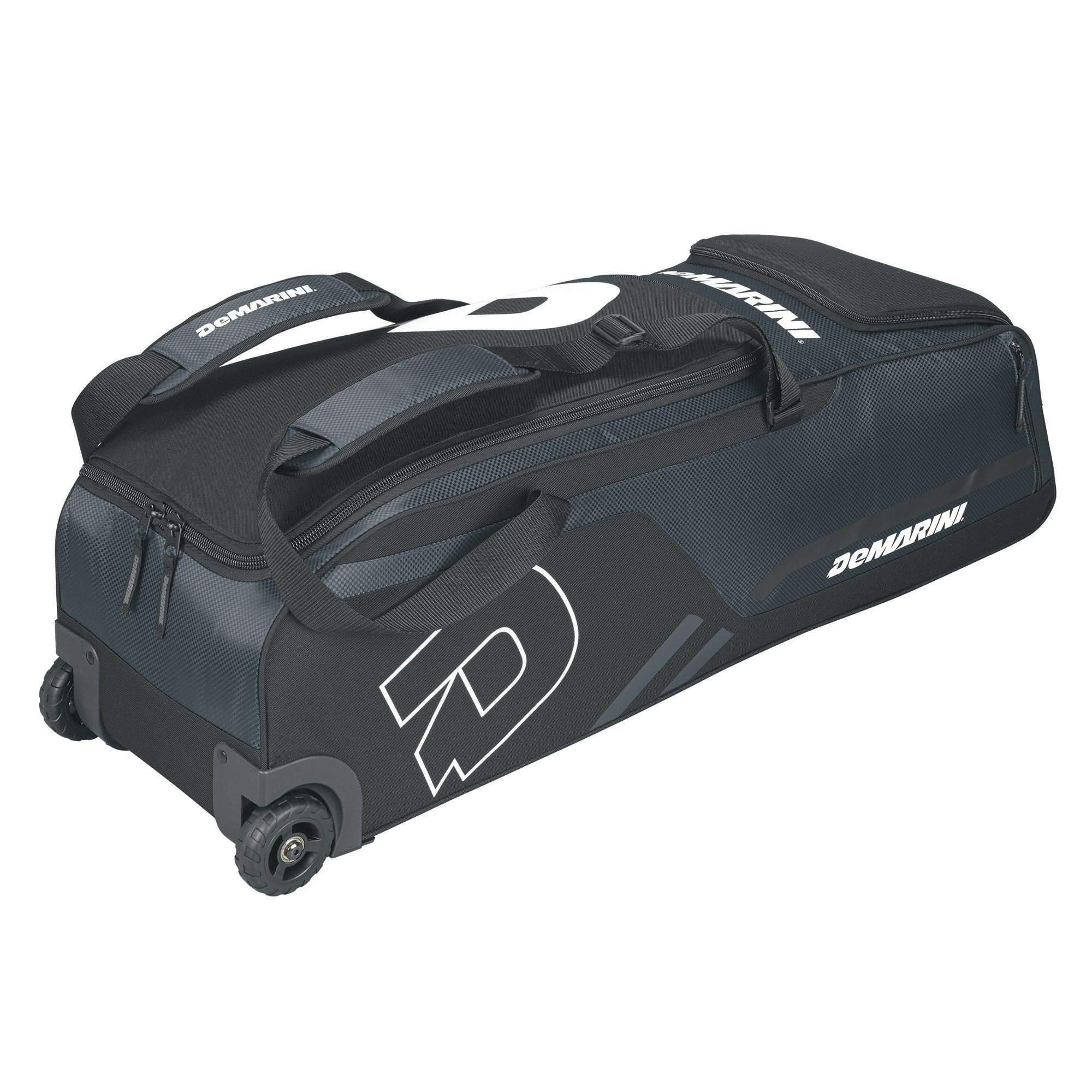 DeMarini Momentum Wheeled Bag, Charcoal by DeMarini
