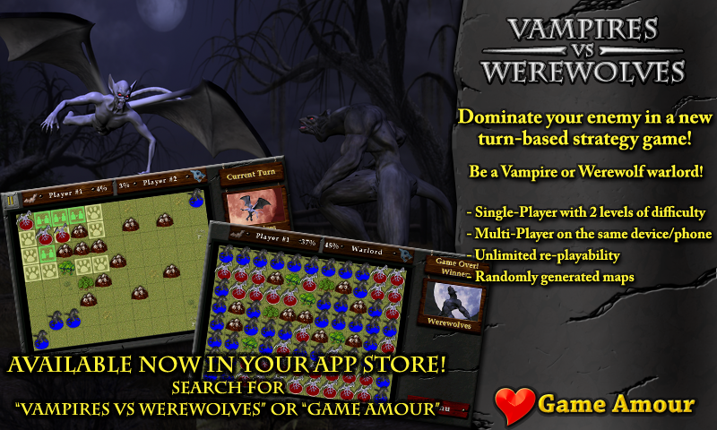 Amazon com: Vampires Vs Werewolves: Appstore for Android