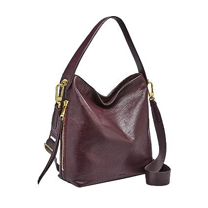 Fossil Maya Leather 30 48 cms Brown Gym Shoulder Bag (ZB7285