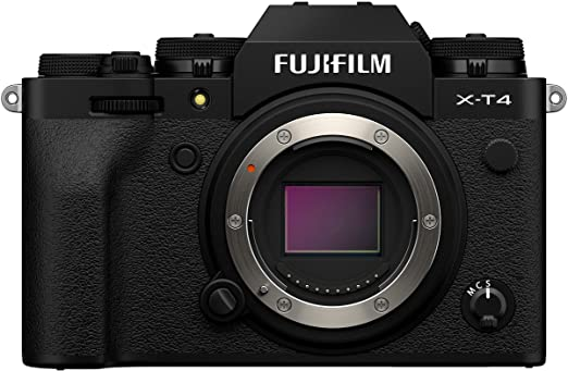Amazon.com : Fujifilm X-T4 Mirrorless Camera Body - Black : Camera & Photo