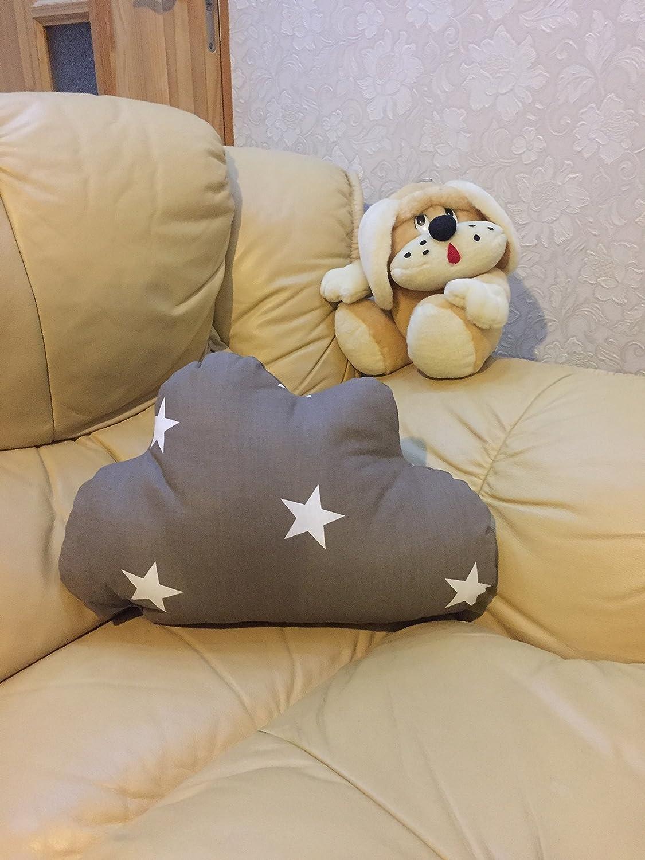 Coussins de chambre denfant pour enfant Nuage Taie doreiller D/écoration de chambre /à coucher pour enfants 100/%