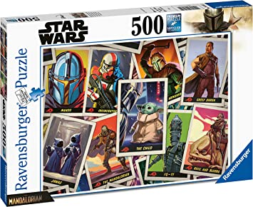 Baby Yoda Mandalorian Puzzle 120 Pieces