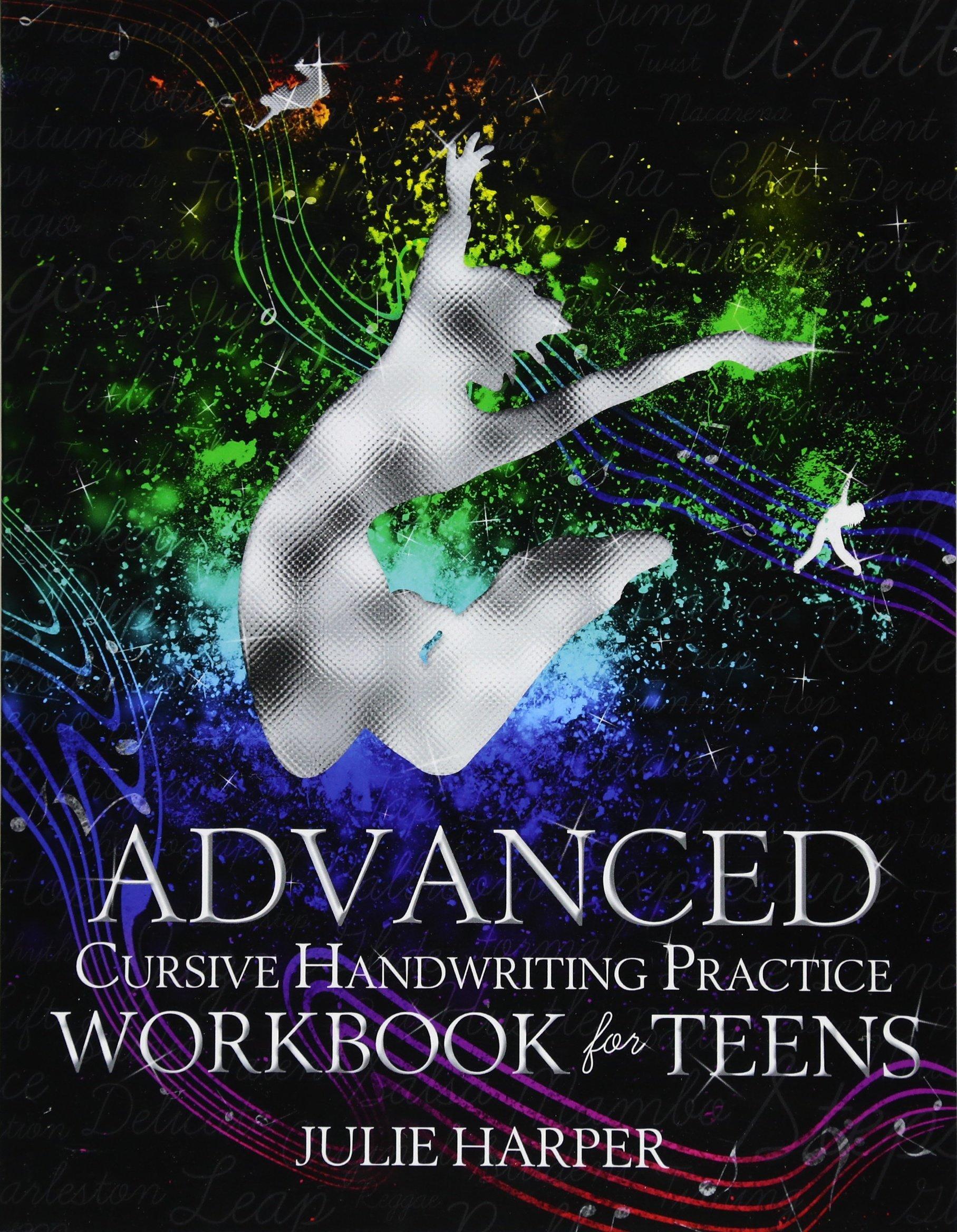 Read Online Advanced Cursive Handwriting Practice Workbook for Teens pdf