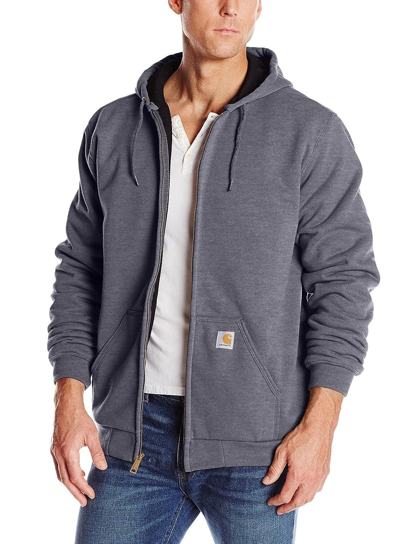 Carhartt Mens Big & Tall Rutland Thermal-Lined Hooded Zip-Front Sweatshirt Carhartt Sportswear - Mens 100632