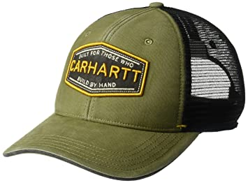 Carhartt Mens Silvermine Adjustable Cotton Mesh Baseball Cap ...