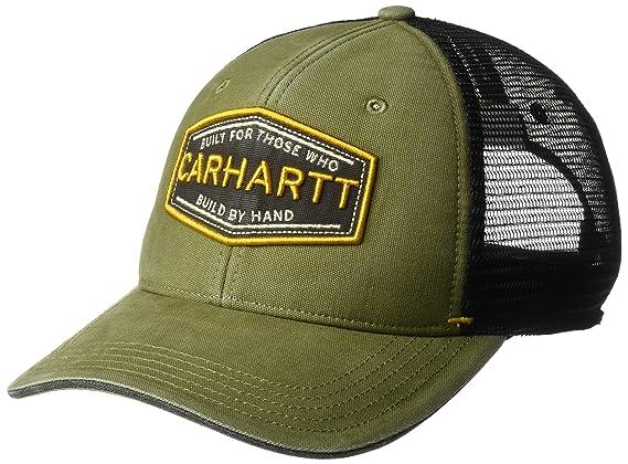 Carhartt Mens Silvermine Adjustable Cotton Mesh Baseball Cap ...