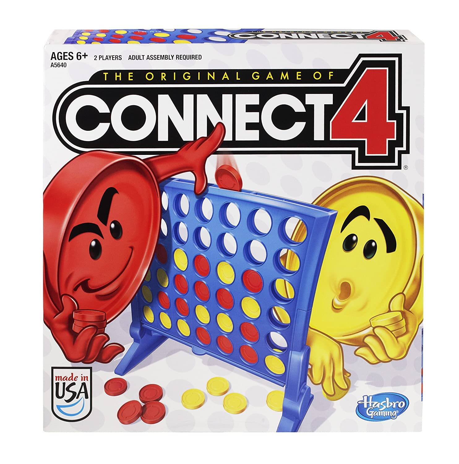 Amazon Hasbro Connect 4 Game Toys & Games