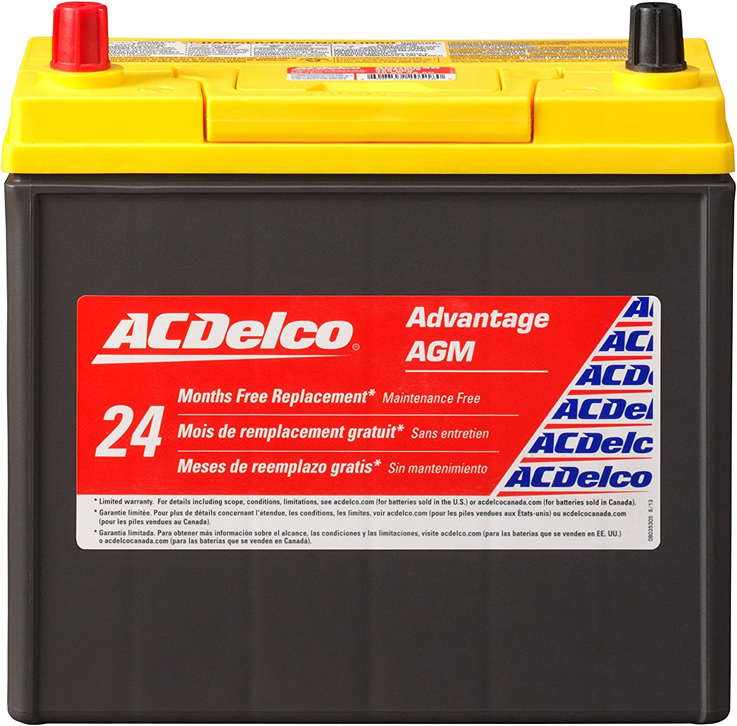 ACDelco Advantage AGM Automotive Battery