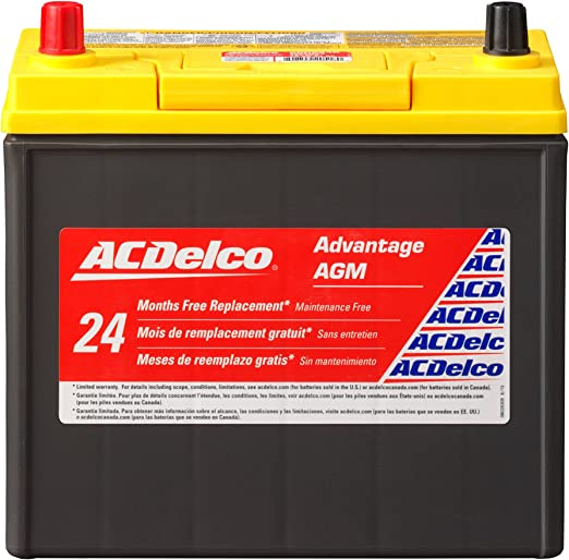 ACDelco ACDB24R Advantage AGM Automotive BCI Group 51 Battery - Best High-end Battery