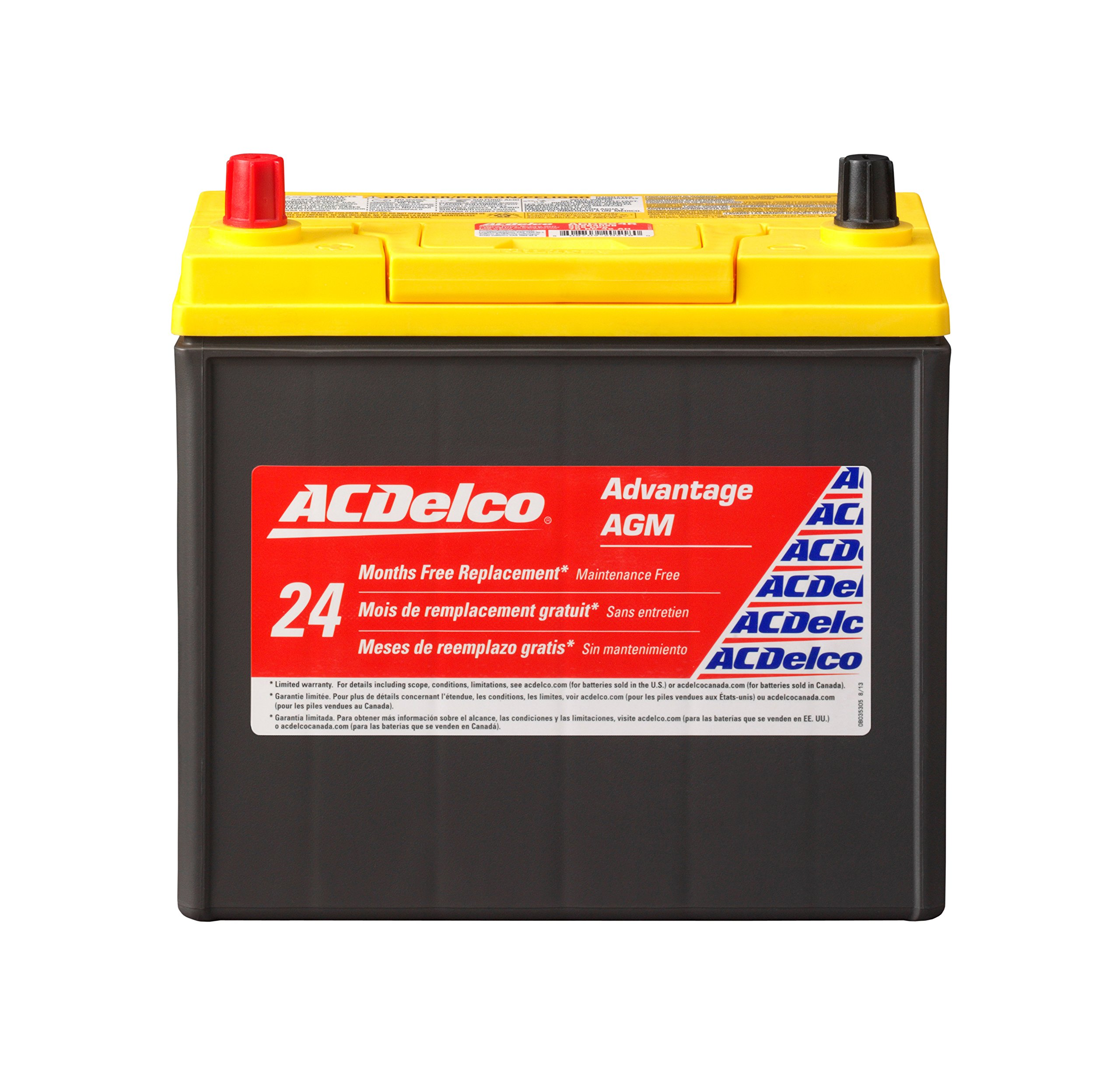 ACDelco ACDB24R Advantage AGM Automotive BCI Group 51 Battery by ACDelco
