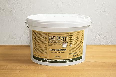 Bevorzugt Kreidezeit Sumpfkalkfarbe 10 Liter: Amazon.de: Baumarkt JF81