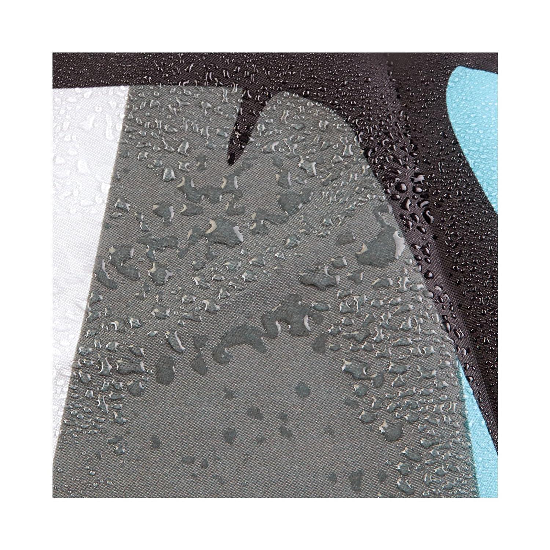 InterDesign Thistle Cortina de baño | Cortinas para baño grandes de 183,0 cm x 183,0 cm | Cortina de ducha de tela suave lavable | Con estampado de flores ...