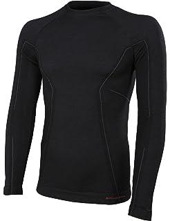 De Lana Larga Antibacteriano Manga Active Wool Hipoalergénico Merino Brubeck® 41 Hombres Camiseta wfp8FxqWI