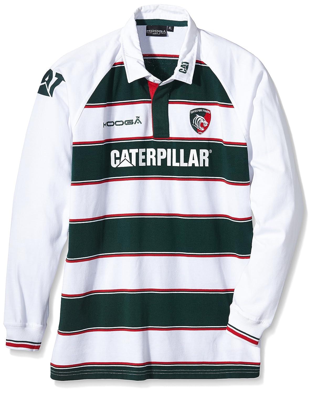 Kooga Leicester Tigers Home 15 16 Classic (DE) Shirt Short Sleeve