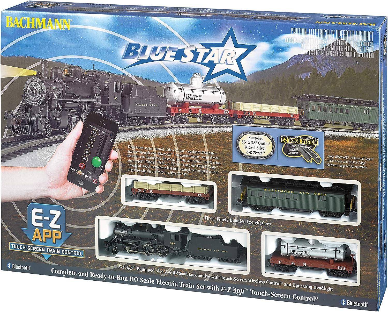 Bachmann Trains Blue Star E-A App Smart Phone Controlled Electric Train Set
