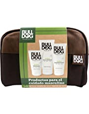 Bulldog Skincare for Men Pack - Kit Cuidado Completo, Limpiador Facial + Gel Afeitado + Crema Hidratante