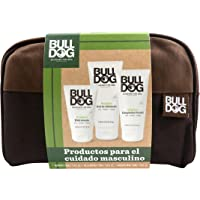 Bulldog Skincare for Men Pack - Kit Cuidado Completo, Limpiador Facial + Gel Afeitado + Crema Hidratante