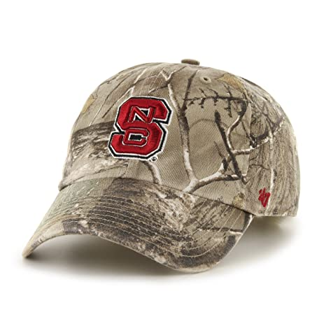 cc6a0af609d392 Image Unavailable. Image not available for. Color: '47 NCAA North Carolina  State Wolfpack Realtree Clean Up Adjustable Hat, One Size,