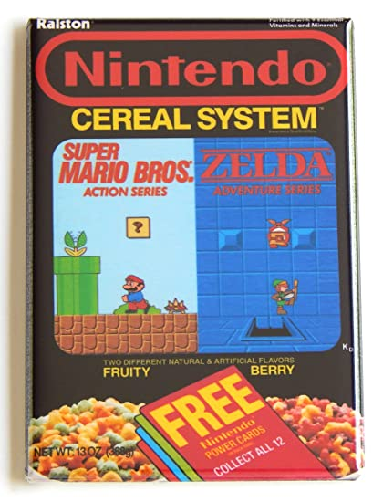 Image result for nintendo cereal