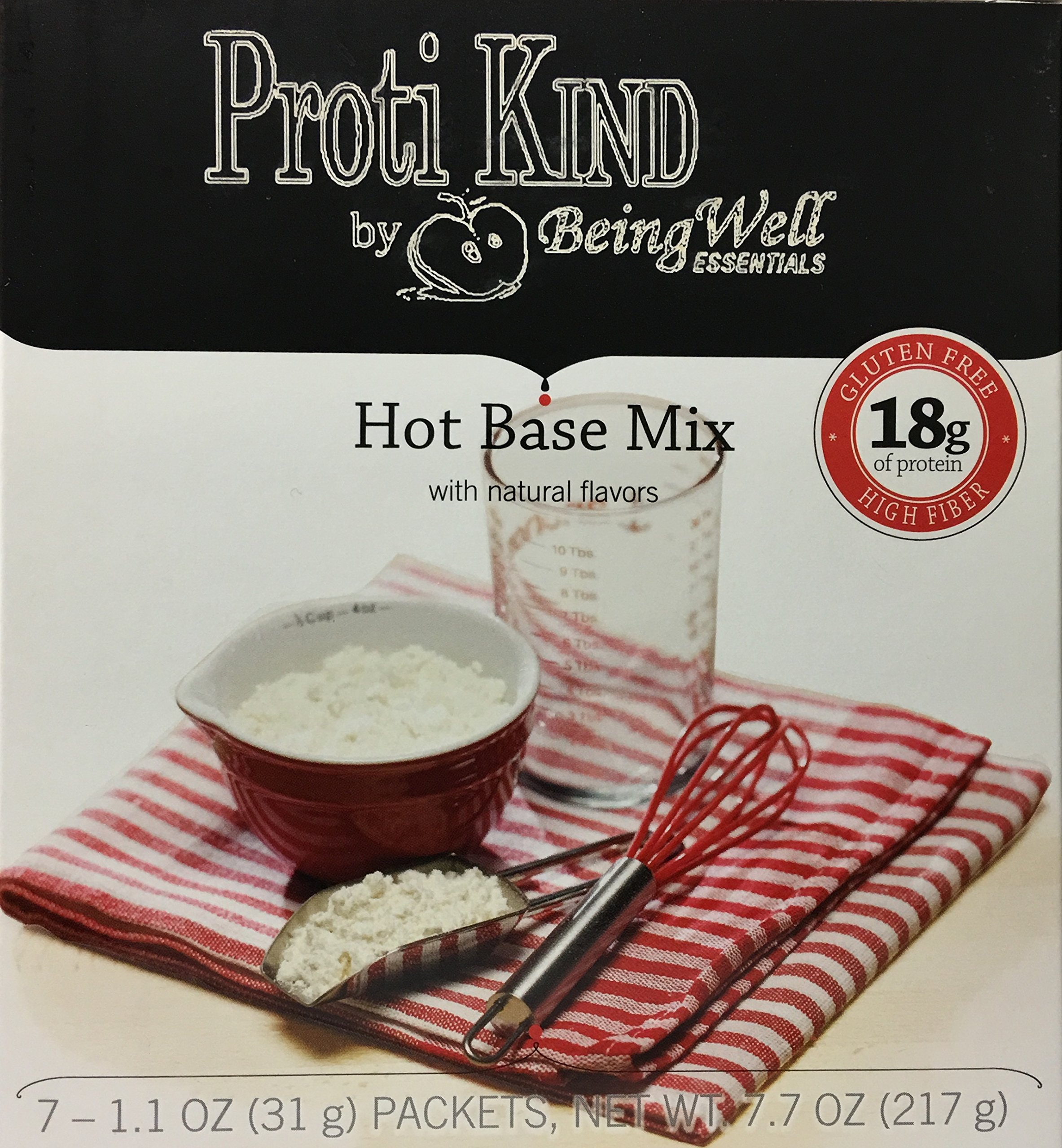 Proti Kind Super Charged Hot Base Soup Mix - 7 servings - 18 g protein per serving