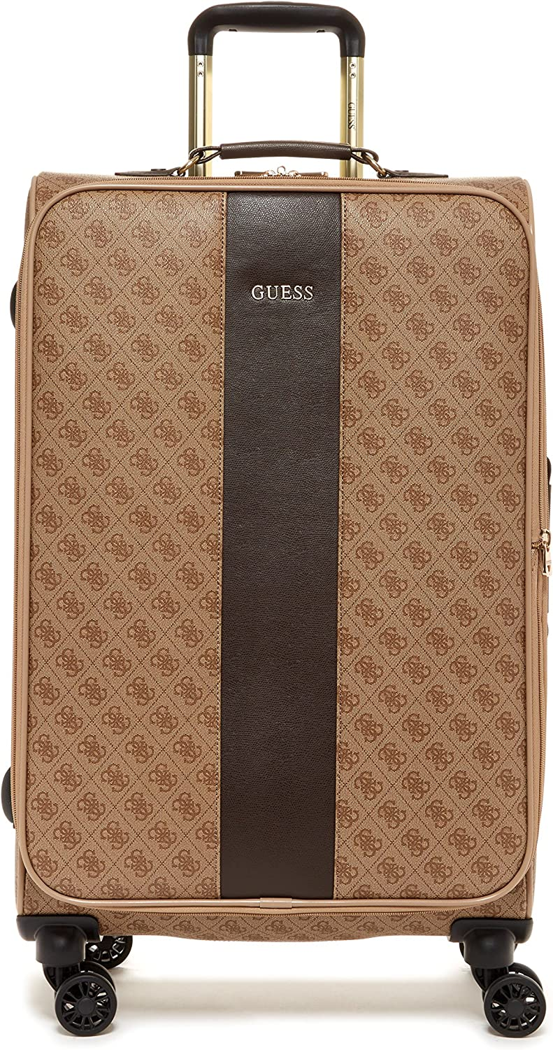 Guess Nissana 24 Spinner 8-Wheeler Brown with Gold Hardware