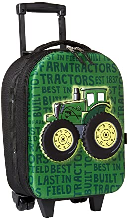 John Deere Boys Little Roller Bag, green One Size