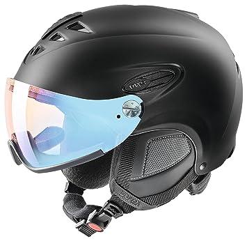 Uvex Hlmt 300 VARIO Casco de esquí, Otoño-invierno, unisex, color negro