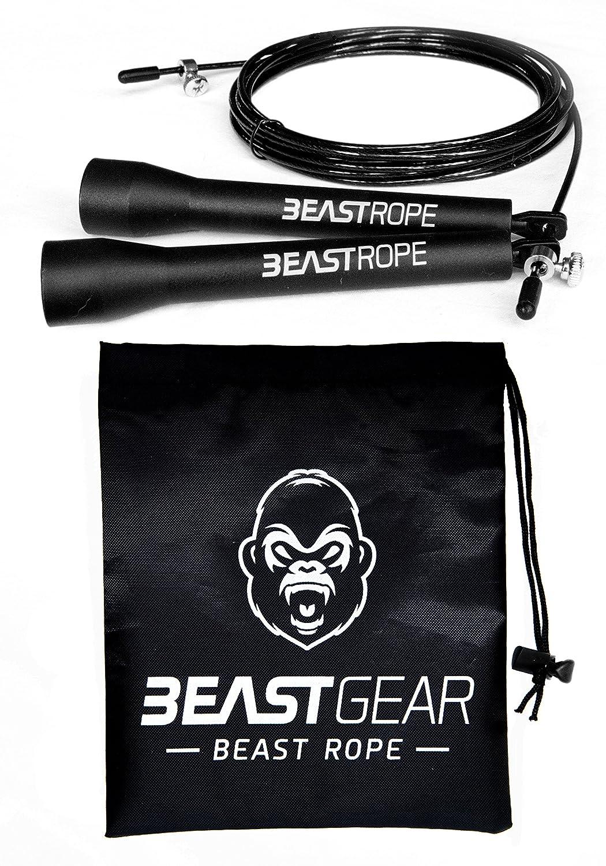 Cuerda para saltar de alta velocidad de Beast Gear Comba de CrossFit