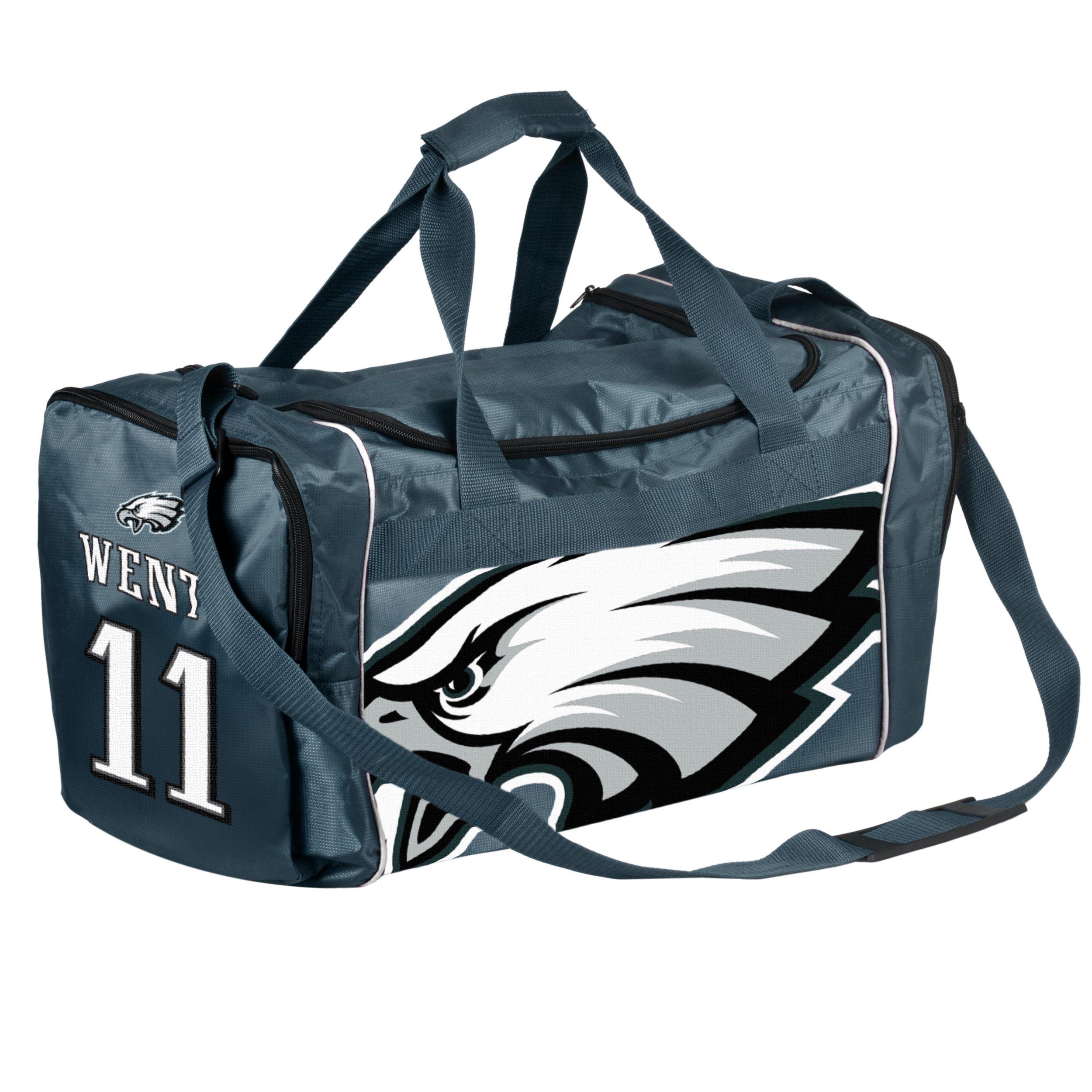 FOCO Philadelphia Eagles Carson Wentz #11 Core Duffel Bag