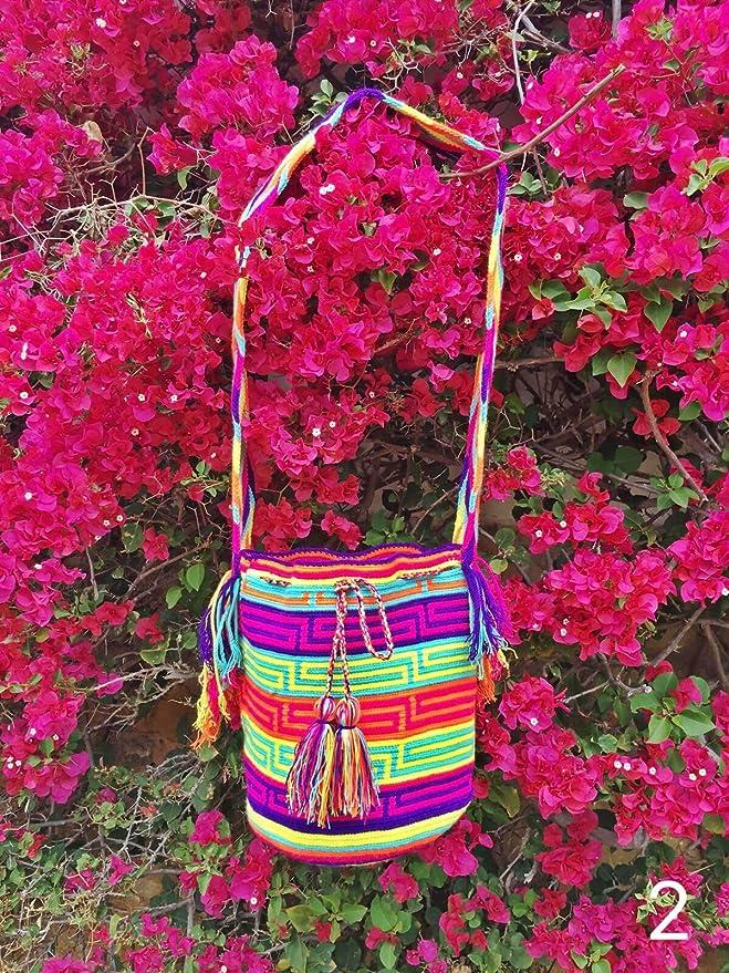 Amazon.com : Wayuu Mochila - Hand Woven - Colombian Bag - Shoulder bag : Everything Else