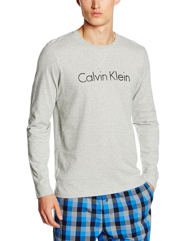 Calvin Klein Men's L/S Crew Neck Long Sleeve Top 000NM1287E