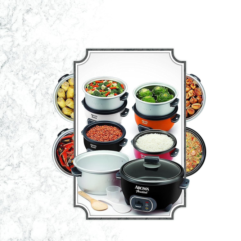 Aroma Housewares SRC-1020-1BT Aroma Housewares Abuelitas Specialty Rice Cooker Black