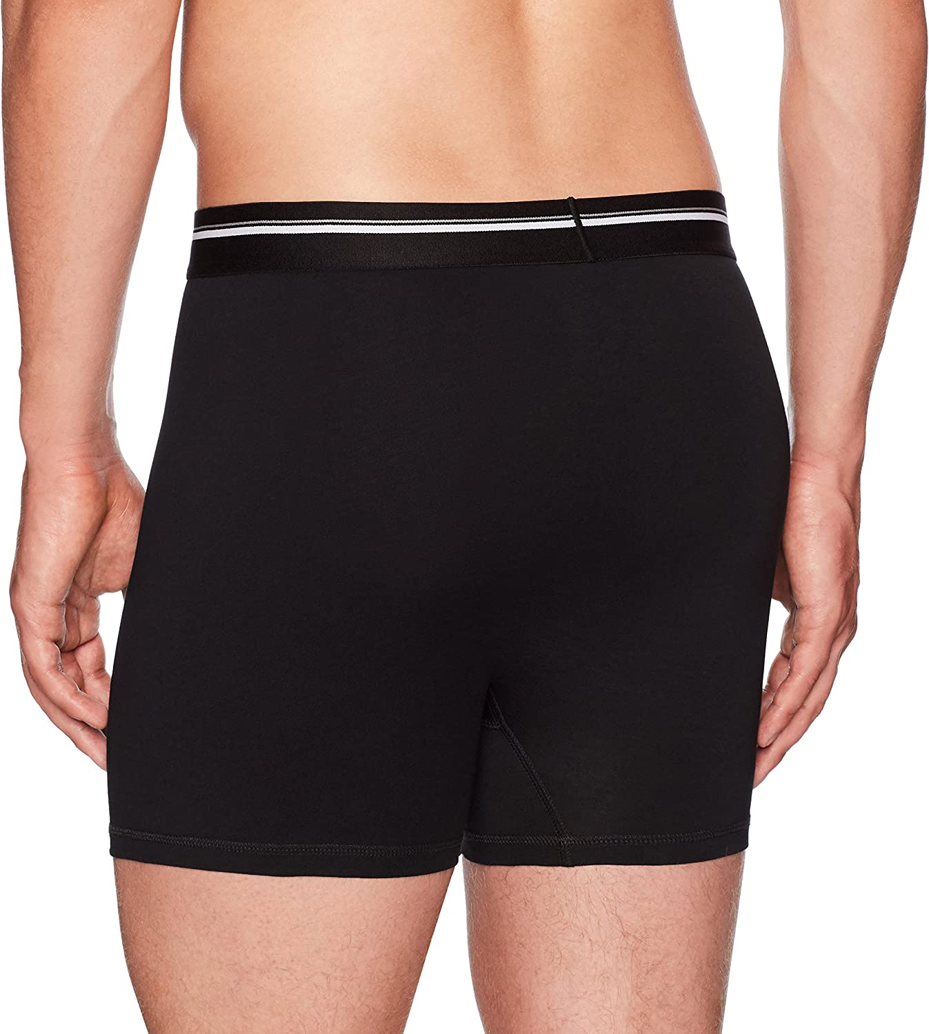 Brand - Goodthreads Men's 4-Pack Tag-Free Boxer Briefs: Clothing