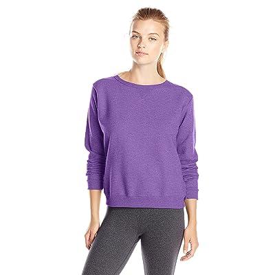 c05cf2700 Hanes Women s V-Notch Pullover Fleece Sweatshirt