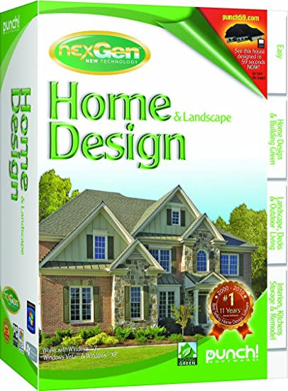 Amazon.com: Punch! Home and Landscape Design with NexGen Technology ...
