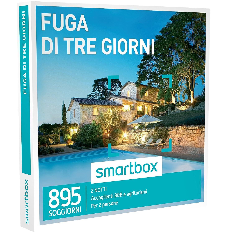 Smartbox Cofanetto Regalo - FUGA DI DUE NOTTI - 895 soggiorni in B&B ...