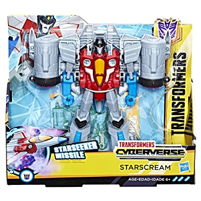 Transformers: Cyberverse Starscream action figure: Toys & Games