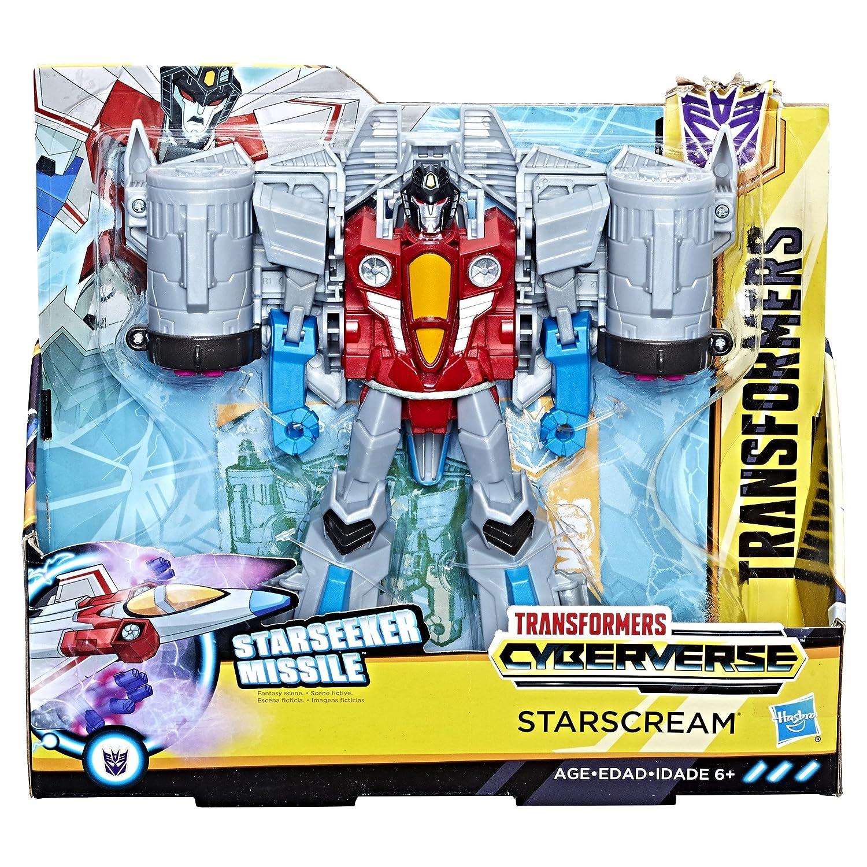 Hasbro Transformers E1906ES0 - Cyberverse Action Attackers Ultra Figur Starscream Roboter-Actionfigur