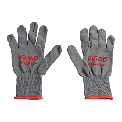 VViViD Grey Professional Vinyl Wrap Anti-Static Applicator Glove Pair (2 Glove Pack): Automotive